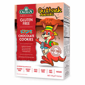 Outback Animals, galletas de chocolate 175 gr